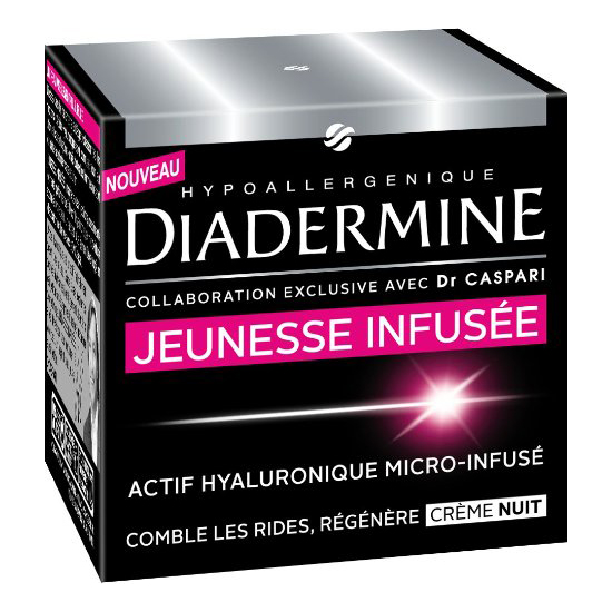 diadermine cr me anti rides de nuit jeunesse infus e dr caspari. Black Bedroom Furniture Sets. Home Design Ideas
