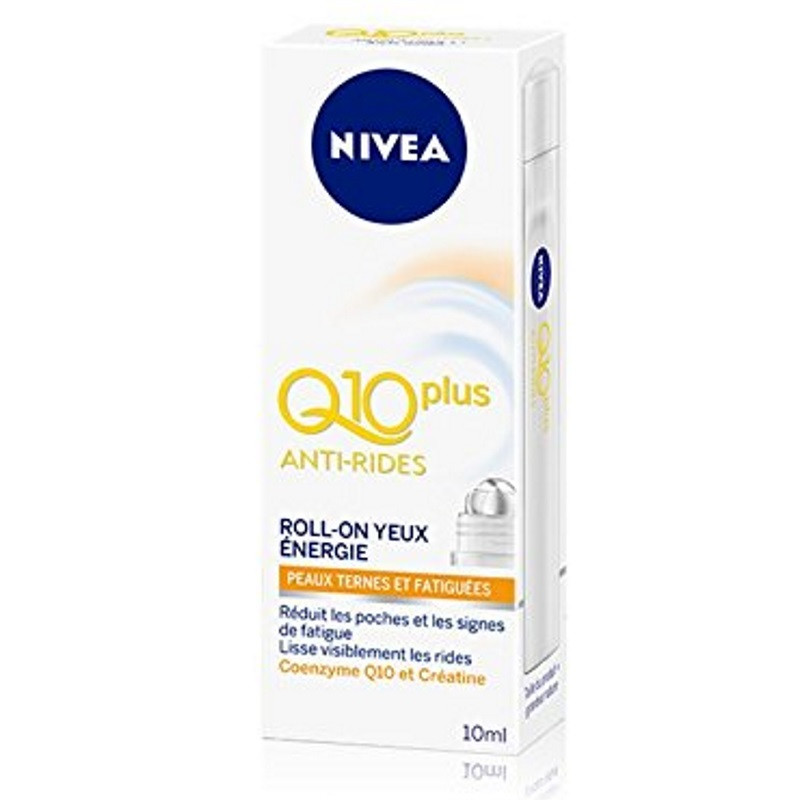 NIVEA - Soin Anti-Rides Roll-on yeux Energie Q10+