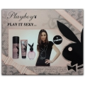 PLAYBOY - Coffret Play It Sexy Eau de toilette + Lotion pour le corps + D�odorant + T-Shirt